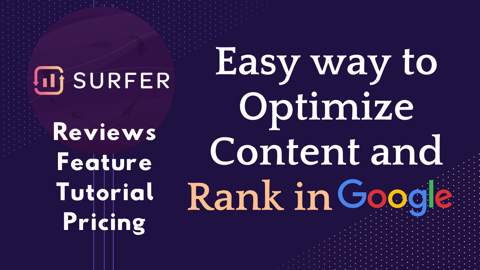 SurferSEO Reports: Straightforward Approach to Optimize Drawl material and Foul in Google