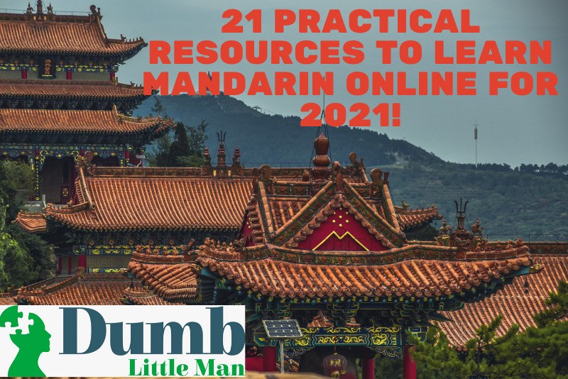 21 Smart Resources to Be taught Mandarin On-line for 2021!