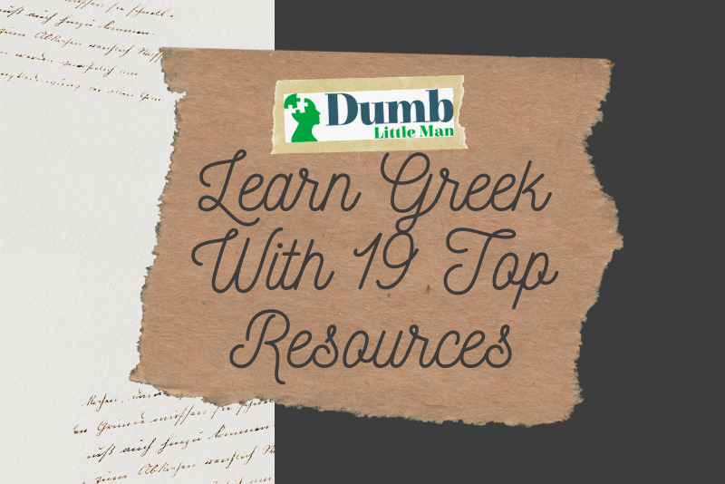 Study Greek With 19 Top Resources